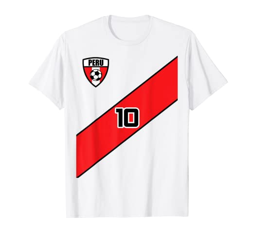 d44039c1908 Image Unavailable. Image not available for. Color: Peru Soccer Jersey Shirt  Peruvian Team Men ...