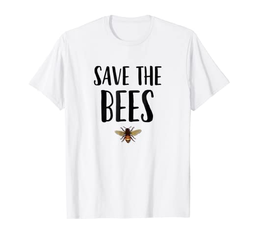 556716ea Image Unavailable. Image not available for. Color: Save the Bees Shirt  Beekeeper t shirt