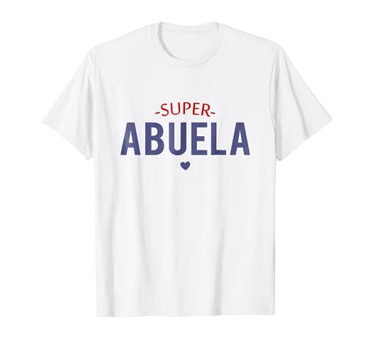 Super Abuela Camisetas - Super Grandmother Tshirts
