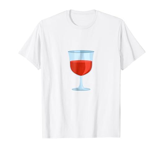Amazon Com Merlot Rose Red Wine Glass Of Wine T Shirt Clothing