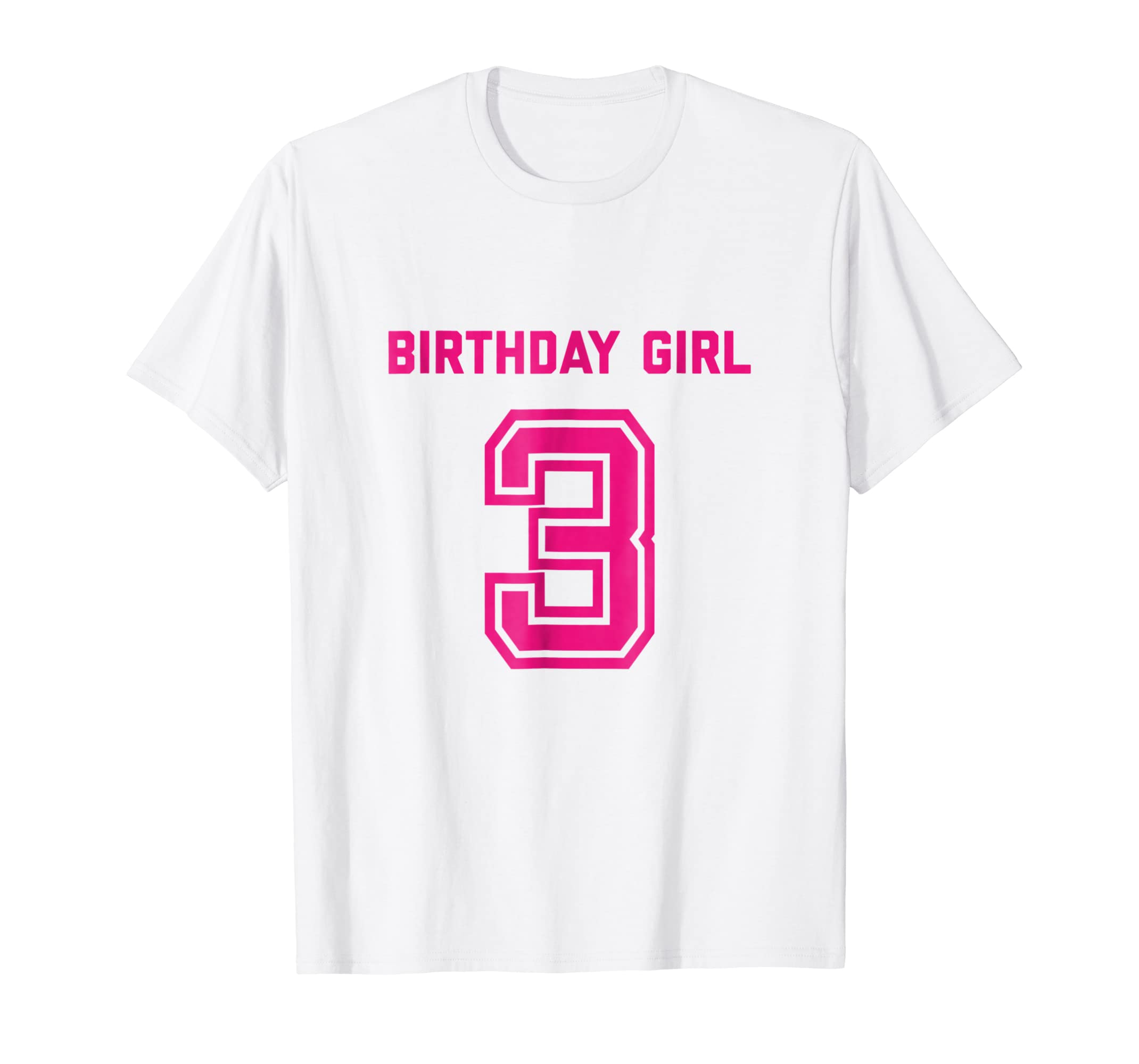 Amazon 3rd Birthday Shirt Gift Age 3 Year Old Girl Tshirt Girls Tee Clothing
