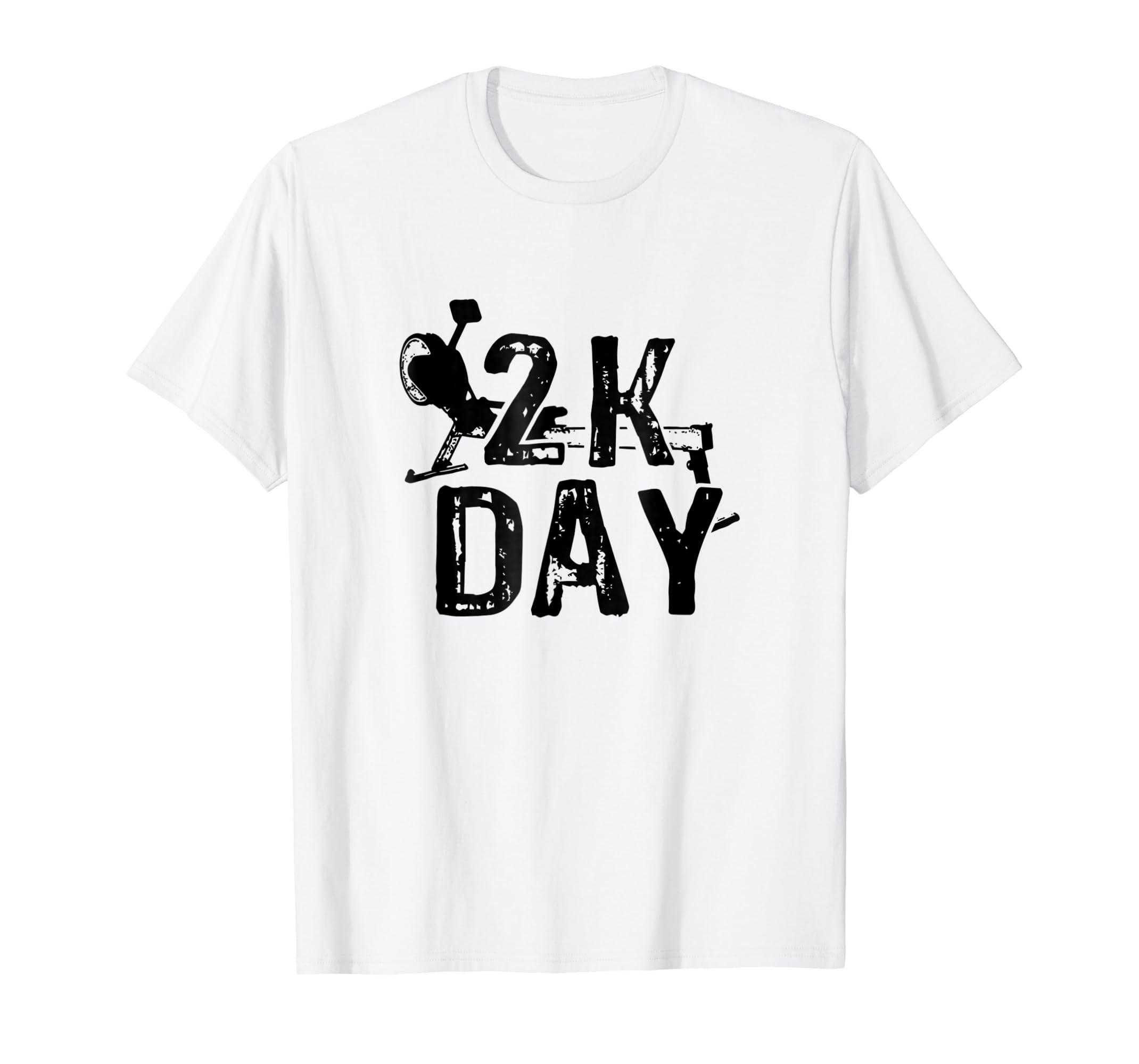 Amazon com: 2K Day Rowing T-Shirt Crew Gift 2k Erg Ergometer
