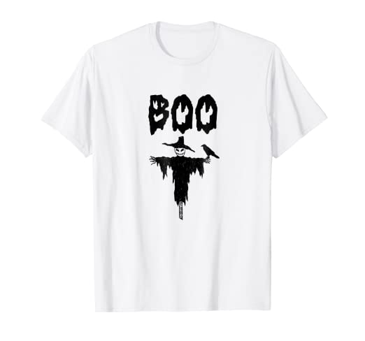 Amazoncom Scary Scarecrow T Shirt Funny Halloween T Shirt Clothing