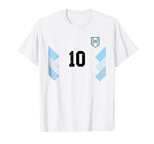 Argentina Soccer Futbol football Jersey Retro T-Shirt