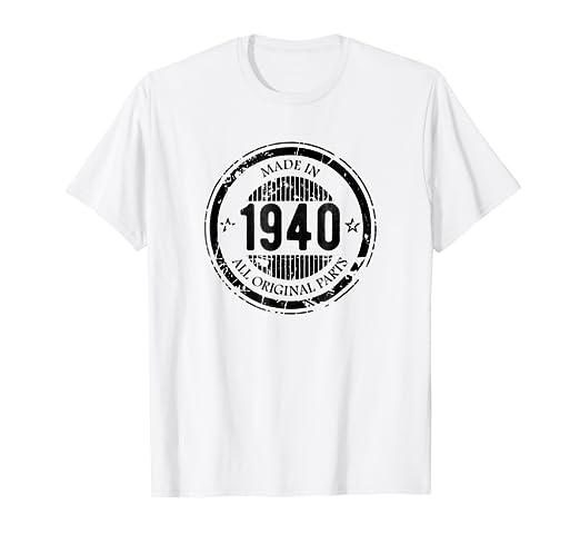 Amazon com: Made in 1940 All Original Parts Birthday
