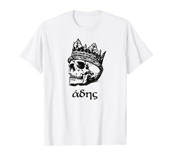 Amazon com: Underworld Shirt Hades Greek Mythology King God
