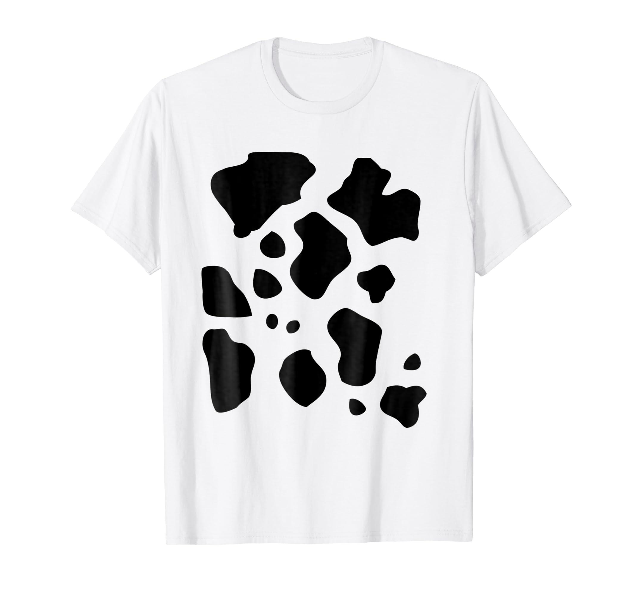 Amazon Funny Halloween Costume Shirt Cow Pattern Print Gift