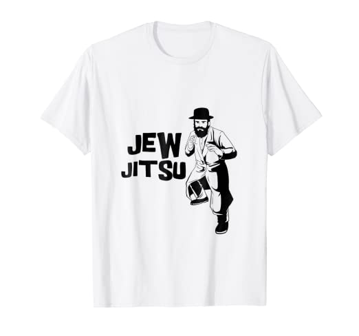68e5be256a Image Unavailable. Image not available for. Color: Mens Funny Jew Jitsu T-Shirt  Jiu ...