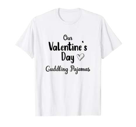 6ce46f28bf56 Amazon.com  Valentines Day Pajama Shirts for Couples Cute and Loving ...