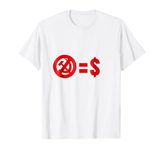 dbba48c2ccf Image Unavailable. Image not available for. Color  Anti Communism I  Libertarians Republicans Capitalism T-Shirt
