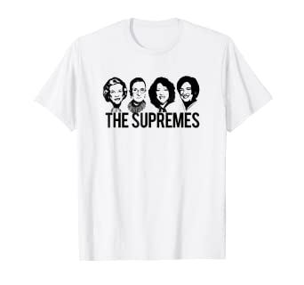 2999475dfb05 Image Unavailable. Image not available for. Color: THE SUPREMES Supreme  Court RBG Sotomayor Kagan T-Shirt Meme