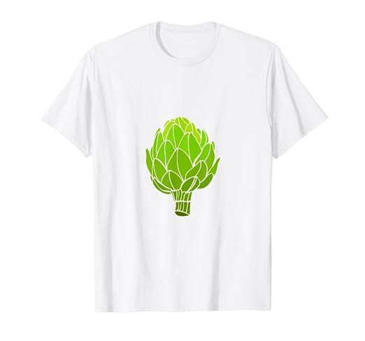 1b5c6998d5105 Amazon.com: Artichoke Graphic Vegetable T-Shirt: Clothing