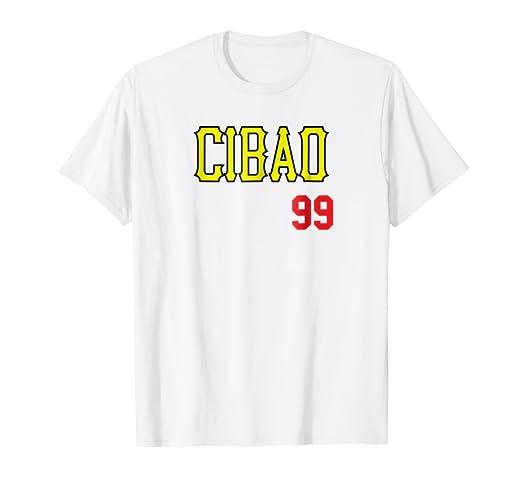 Cibao Baseball Jersey T-Shirt Camisa Beisbol Dominicana 99