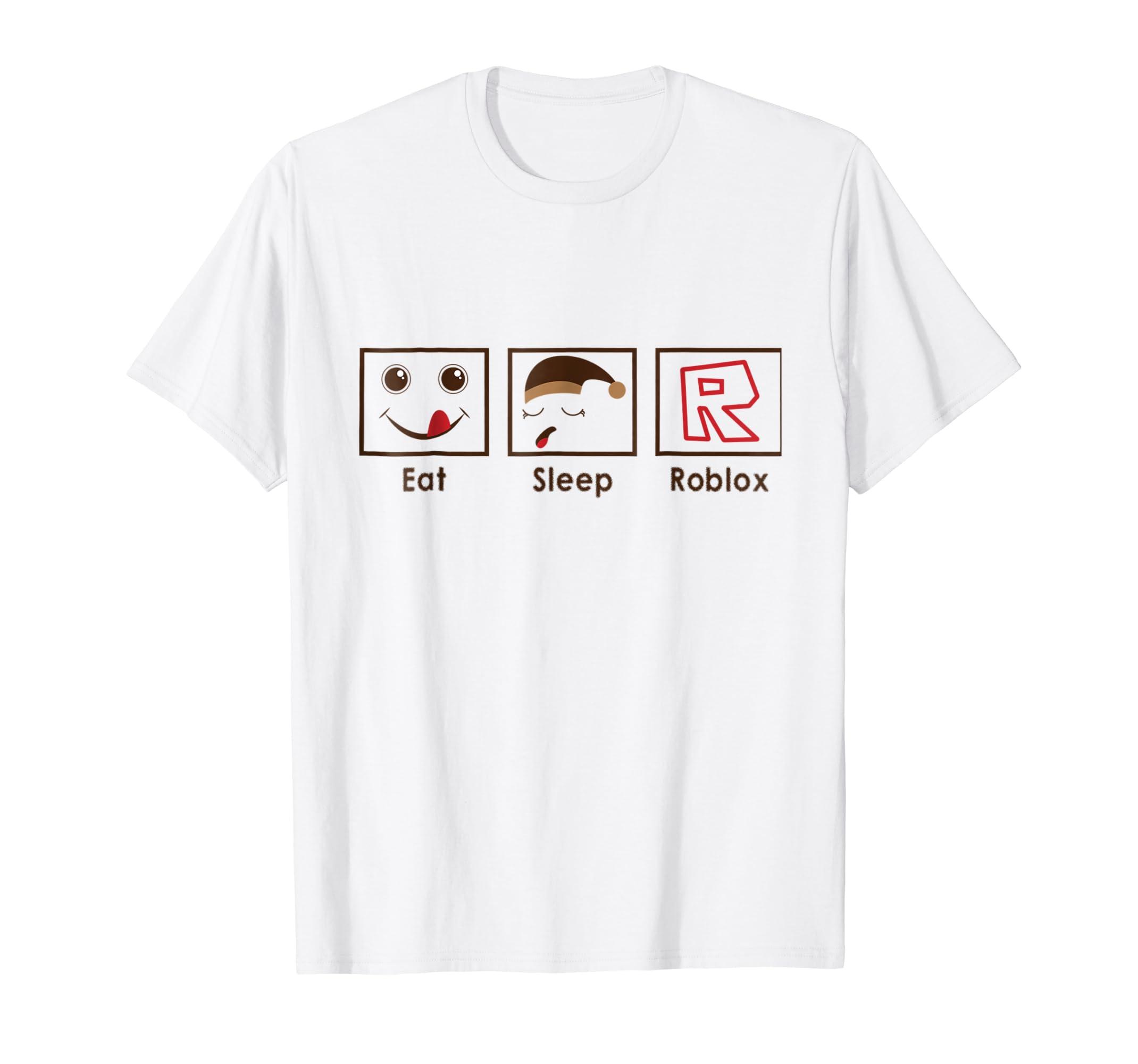 Eat Sleep Roblox T Shirt Mt Mugartshop