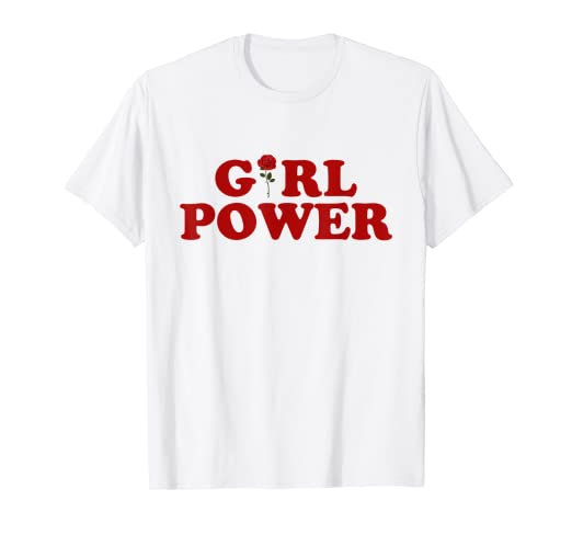bcc48909 Image Unavailable. Image not available for. Color: Girl Power T-Shirt ...