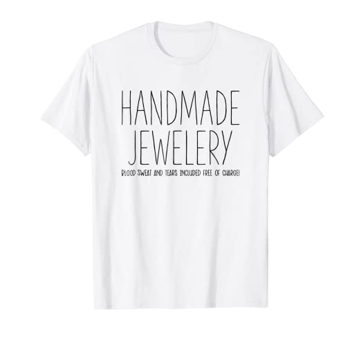 63a5449c Image Unavailable. Image not available for. Color: Tool Maker T-Shirt  Jewelry Making ...
