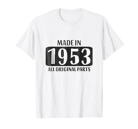 65th Birthday Shirt Men Grandpa Age 65 Women Grandma Gift