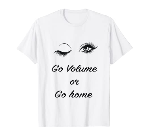 43ed8bdd0e0 Image Unavailable. Image not available for. Color: Womens Eyelashes T Shirt  Lashes Girl Artist Tee
