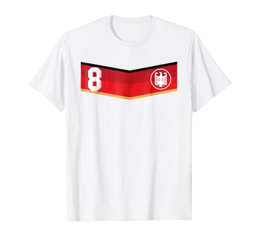 405758137 Image Unavailable. Image not available for. Color  Retro Germany Soccer  Jersey Deutschland T-Shirt 2014