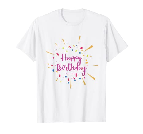 Amazon Cute Birthday T Shirts Gift For Women Friendfamily