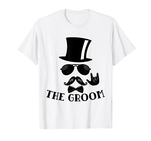 Amazon.com  Mens The Groom Bachelor Party Shirt T-Shirt  Clothing df539a4cb