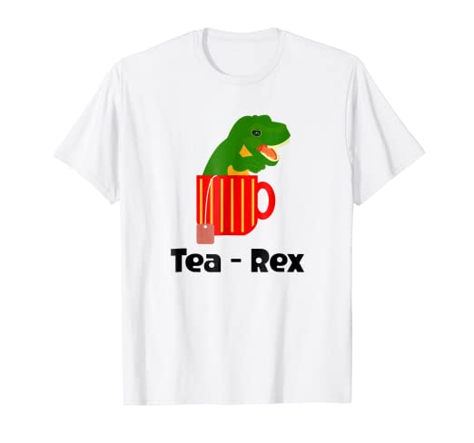 eda507f1 Image Unavailable. Image not available for. Color: Tea Rex T-Shirt Cute  Dinosaur ...