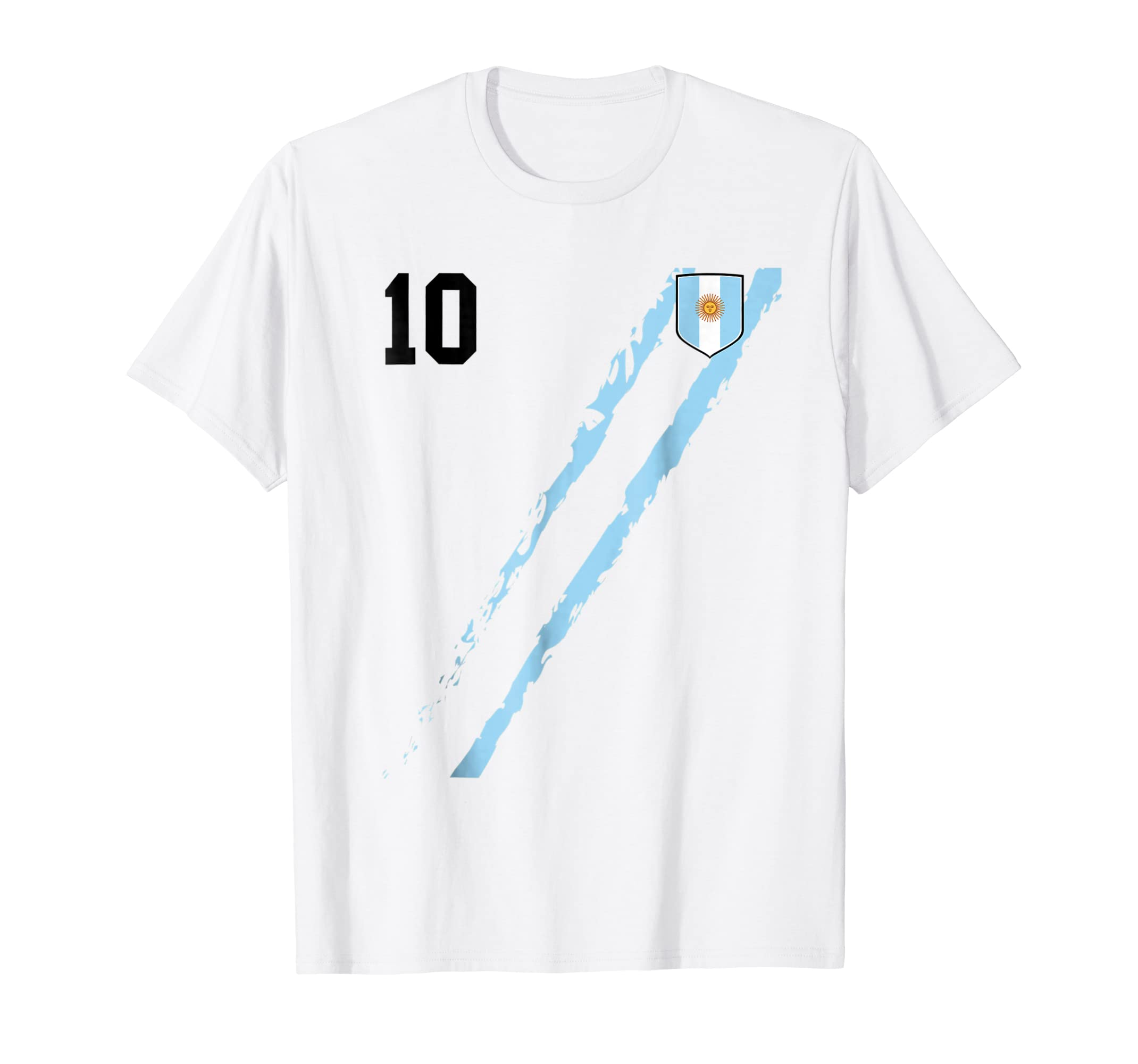 Amazon.com: Argentina Vintage Team Soccer Futbol football Jersey T-Shirt: Clothing