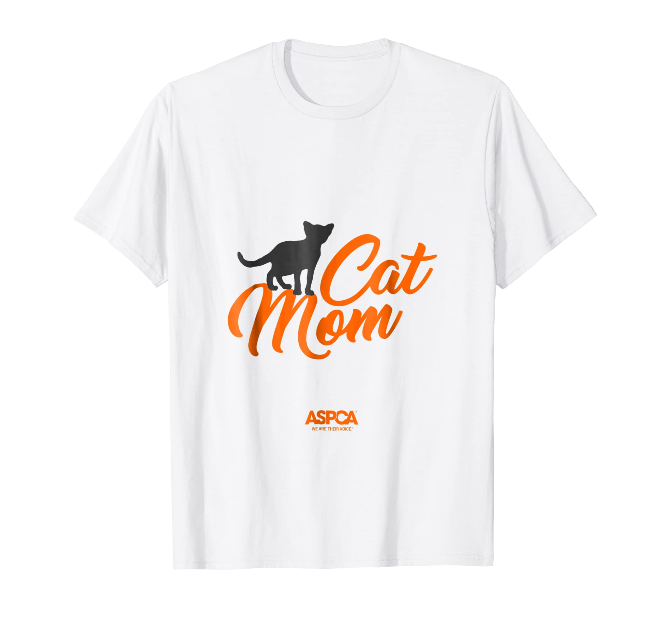 9fab3218b2 Amazon.com  ASPCA Cat Mom T-Shirt Light  Clothing