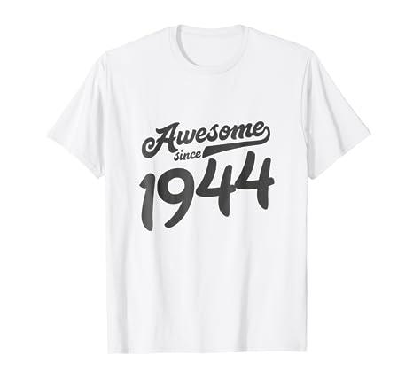 74th Birthday Gift Shirt Women 1944 Age 74 Years Old Grandma