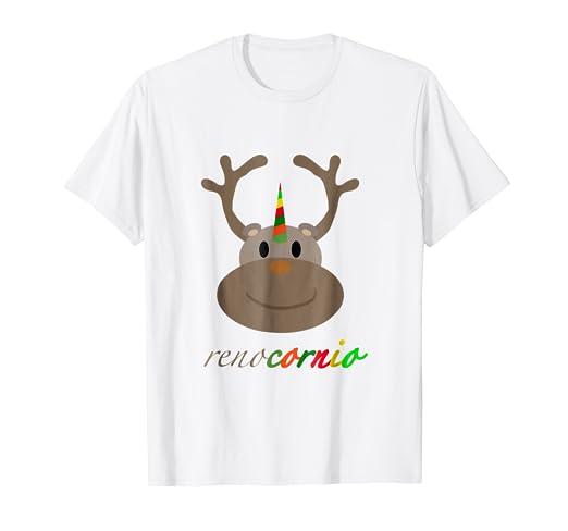 Reno de navidad - Rodolfo el Reno Shirt - RENOCORNIO