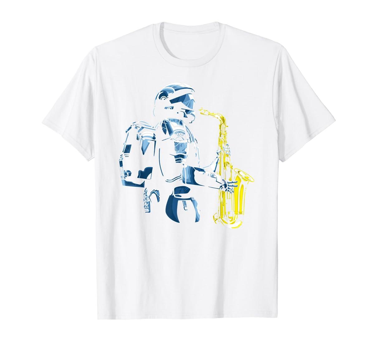 Halo ODST Jazz T-Shirt-Men's T-Shirt-White