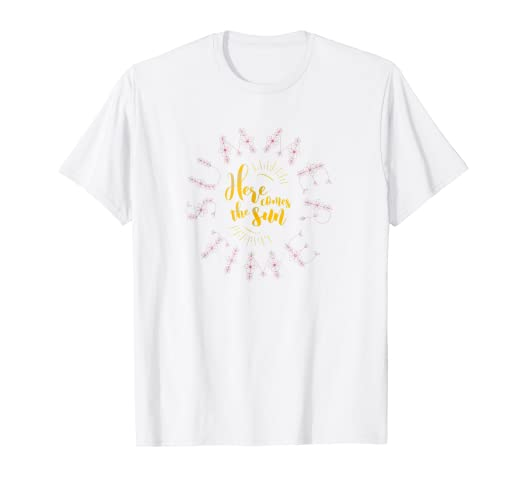 ae93d16f4ce4 Image Unavailable. Image not available for. Color  Summertime Here Comes  the Sun T-Shirt