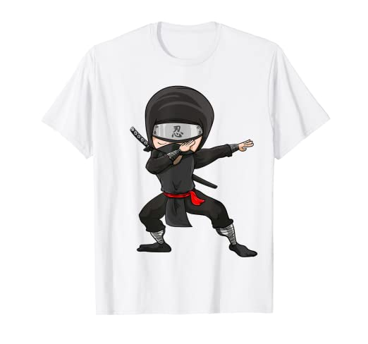 Amazon.com: Dabbing Ninja Shirt | Funny Dancing Martial Arts ...