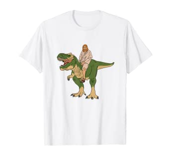 fbfc50aa Image Unavailable. Image not available for. Color: Jesus On Dinosaur T-Shirt  ...