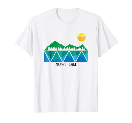 4de116baafe Amazon.com  Branch Lake ME t-shirt