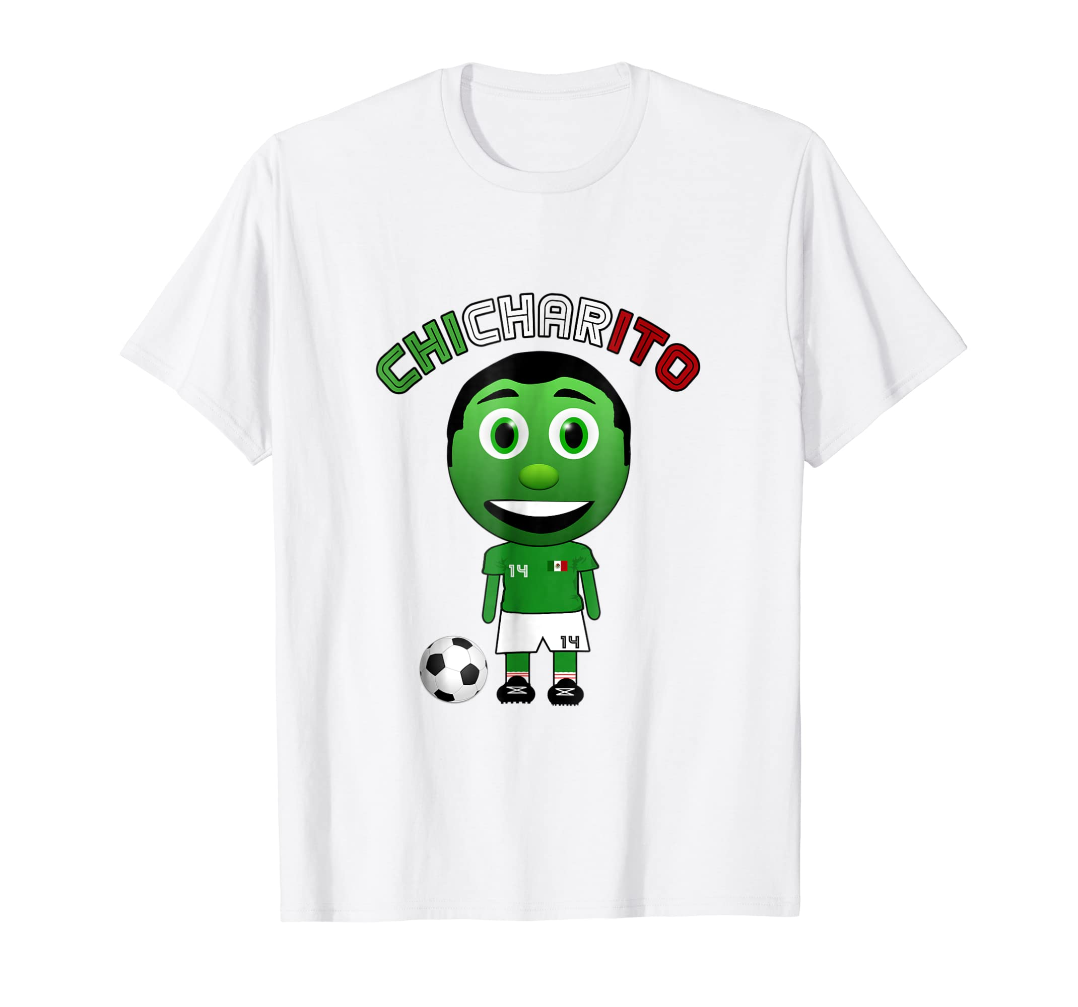 Amazon.com: Mexico Chicharito 14 Futbol National Team Men Women Shirt: Clothing