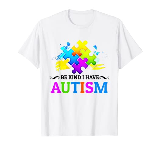 d442f0d7f Image Unavailable. Image not available for. Color: I Have Autism T Shirt  autism Awareness Shirts kids ...