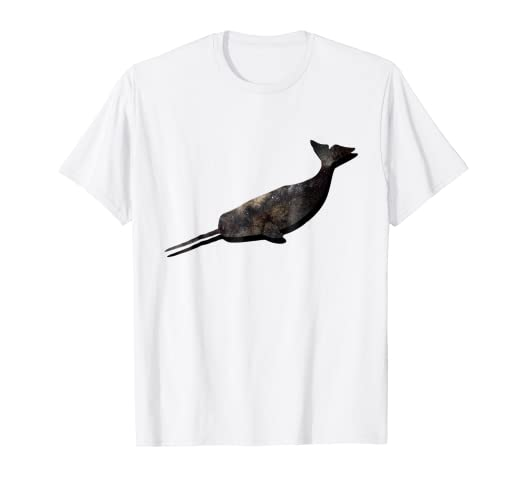 1a251447 Amazon.com: Awesome Space Narwhal T-shirt For Men & Women: Clothing
