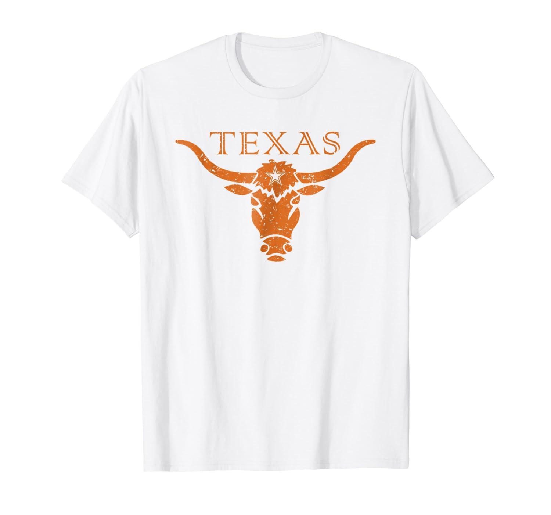 Vintage Texas Longhorn Bull Icon T-shirt-Loveshirt
