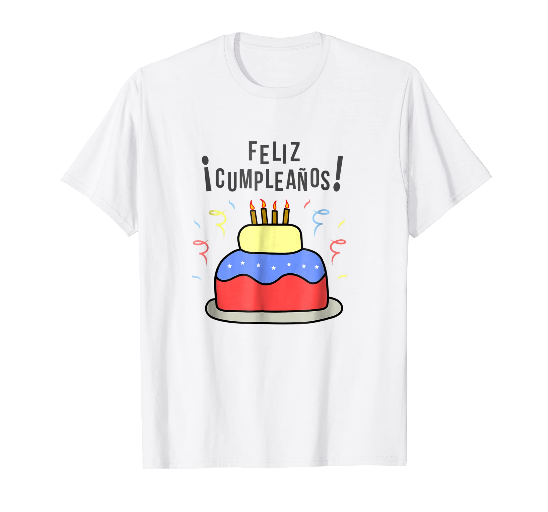 Amazon.com: Venezuela Happy Birthday Cake Cumpleanos Feliz ...