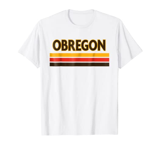 Retro Ciudad Obregon Baseball T-Shirt Mexico Remera Beisbol