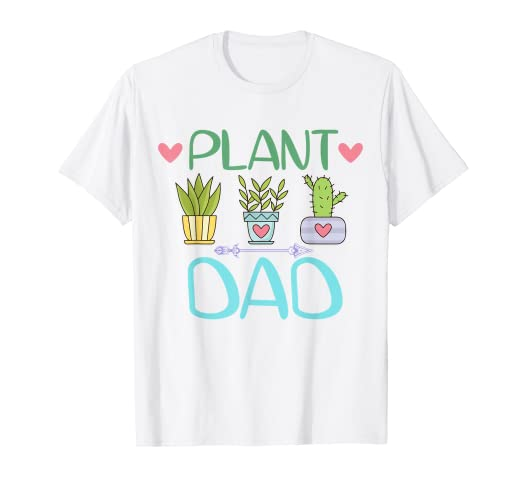 ad24f887 Image Unavailable. Image not available for. Color: Mens Plant Dad Shirt ...
