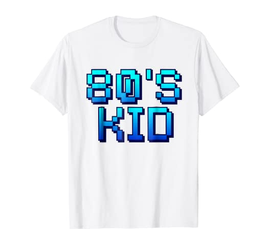 6c61235b Image Unavailable. Image not available for. Color: 80s Clothes for Men Women  - 1980s Retro Tees ...