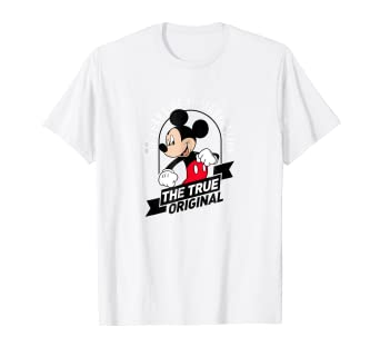 Amazon Disney Mickey Mouse True OG 90th Anniversary T Shirt