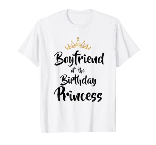 Boyfriend Of The Birthday Princess Matching Family T Shirt