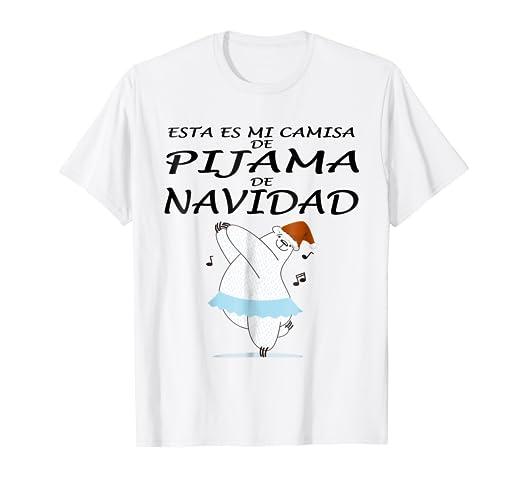 Esta Es Mi Pijama Navidad Camiseta Navidad Xmax oso bailarin