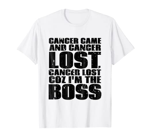 2f8c6828 Image Unavailable. Image not available for. Color: Cancer Survivor funny  motivational quote t-shirt