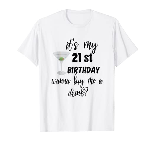 Amazon.com: 21St Birthday Shirts For Women Men Drinking Shirt