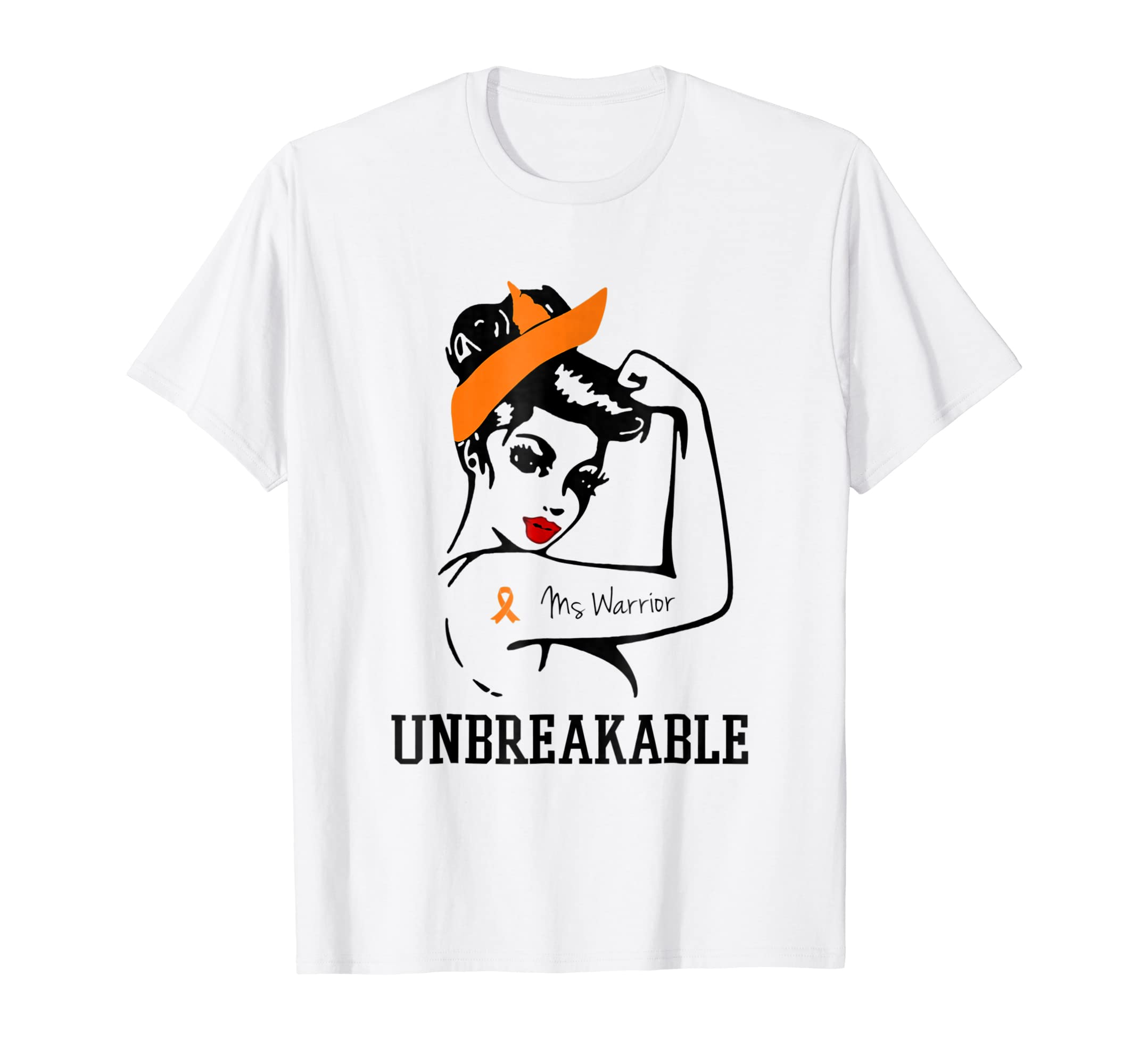 Ms Warrior Unbreakable t shirt-Teesml