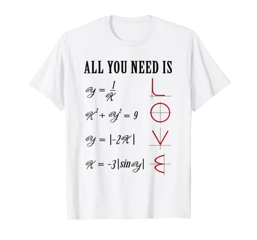 057d8815db29 Image Unavailable. Image not available for. Color: Math T-Shirt Love Funny  Math Teacher Shirt Men ...
